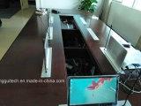 Mic LCD 상승 Lgt-156mic를 가진 회의 시스템