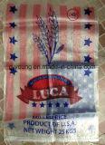 Pp. gesponnene Reis-verpackenbeutel des Korn-50kgs für Verkauf