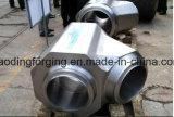 T industriale dell'uguale della lega di pezzo fucinato caldo per materiale da costruzione