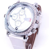 Watch Camera H. 264 Video HD 720p Watchproof (QT-H003) 숙녀