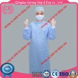 Vestido cirúrgico descartável médico não tecido de SMS estéril