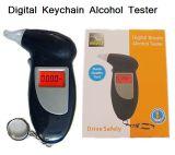 Het digitale Meetapparaat Breathalyser van de Alcohol van de Adem Keychain