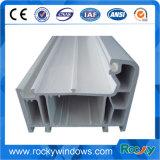 UPVC&PVC WindowsおよびドアのUPVCのプロフィールの引き戸、UPVCのドアを滑らせる木製カラー