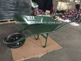 Hot Sale Construction en acier durable Brouette, construction, jardin Wheel Barrow