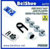 17mm/19mm/21mm Plastik-ABS Rad-Schrauben-Deckel-Mutteren-Schutzkappe für Universalität