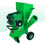 Shredder Chipper de madeira da gasolina 9HP pequena