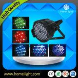 Van het LEIDENE Lichte /LED 54X3w kan RGB PARI PARI voor de Club van de Disco van het Stadium aansteken