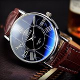 H312 maken het Horloge van het Paar van de Manier van Yazole voor Mannen en de Vrouwen Horloge waterdicht