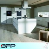 顧客用白いカラー光沢のある食器棚Blk27