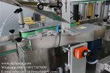 Automatische Seiten-Etikettiermaschine der Glasflaschen-drei für Bierflasche
