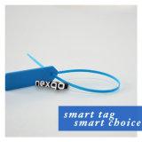 Tag passivo lido longo impermeável da cinta plástica da freqüência ultraelevada RFID da escala para a gerência do controle de acesso