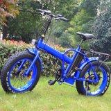 뚱뚱한 타이어 바닷가 함 전기 자전거