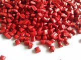 Film-Grad LDPE bereiten Rohstoff-rote Farbe Masterbatch auf