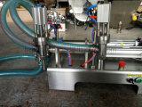 Semi-Automatic Double Mineral Heads Water Liquid Filling Machine