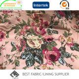 Повелительницы ткани картины цветка хлопка Пальто 100% большой напечатанной Сумки Крышки Ткани
