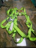 Poliéster arnés del cinturón de seguridad industrial con doble eslinga de cinta