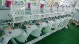 9 e 12 macchina piana capa del ricamo degli aghi 8 automatizzata per la fabbricazione del ricamo della protezione di marchio