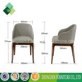 Cadeira francesa da parte traseira redonda de Ashtree do estilo para a sala de visitas (ZSC-21)