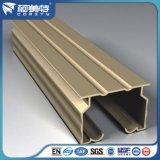 Perfil de aluminio del OEM 6063t5 para la pista /Rail /Pole de la cortina