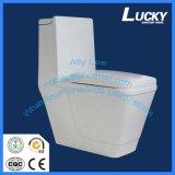 Toletta di ceramica di un pezzo fissa in articoli sanitari della stanza da bagno