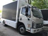 4X2 Foton LED che fa pubblicità al camion 5 tonnellate di veicolo mobile del LED