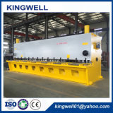 CNC/Nc-hydraulische Guillotine schier Maschine, hydraulische scherende Stärke der Ausschnitt-Maschinen-16mm