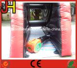 Scheda di dardo gonfiabile gigante del Velcro per il gioco della fucilazione di calcio