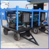 30kw 새로운 조선소 시설을%s 디젤 엔진 물 모래 폭파 기계