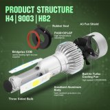 LED 차 헤드라이트 S2 H4 옥수수 속 차 빛 8000lm 72W LED 헤드라이트
