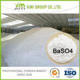 非常に狭い粒度の範囲0.7 Umによって沈殿させるバリウム硫酸塩