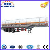 3 Axle 52cbm алюминиевого сплава топлива груза топливозаправщика тележки трейлер Semi