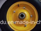 팽창식 압축 공기를 넣은 고무 타이어