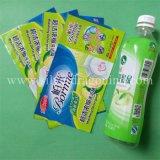 Escritura de la etiqueta de la funda del encogimiento de la impresión del PVC para la botella de la bebida