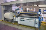 Single automatique Color Roll à Roll Non Woven Fabric Screen Printing Machine