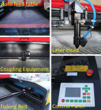 Автоматический подавая автомат для резки ткани лазера Akj1410