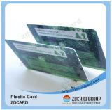 Plastik-Identifikation kardiert Material Belüftung-transparente Visitenkarte