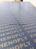 4 * 8 Black Film Faced Plywood Figher Jiont Core pour l'Inde