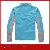 스포츠 달리기를 위한 도매 경량 인쇄 재킷 외투 (J145)
