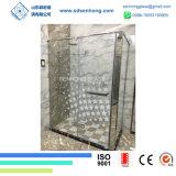 3/8 glace Tempered souillée décorative d'impression de Digitals pour la porte de douche