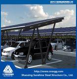 Montaje de techo de panel solar Soporte de acero estructural galvanizado