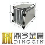 Portador de alumínio condicionado ar do animal de estimação