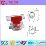Пластичное уплотнение метра с шпалоподбойкой Jcms-004 предохранения от кода штриховой маркировки нержавеющего провода