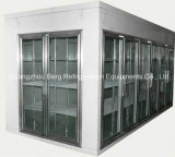 Walk in Glass Door Display Congelador con Compresor Remoto