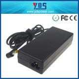 El adaptador de la C.C. de la CA de la computadora portátil de la potencia del surtidor 19V de China con FCC RoHS del Ce aprobó