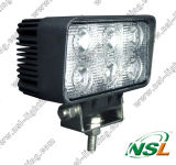 18W LED Truck Work Light 12V 24V TractorオフロードWorking Light