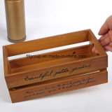 Rectángulo de empaquetado de madera de la vendimia más caliente de la alta calidad
