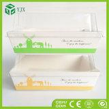 Подгонянная печений окна PVC картонная коробка пластичных прозрачных малая