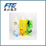 Botellas plegables de la impresión para los deportes