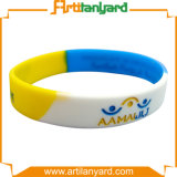 Wristband impermeabile di gomma promozionale del silicone