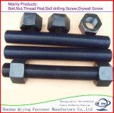 Boulons de tête Hex de Zp/beaucoup de genres de boulon d'acier du carbone dans le matériel